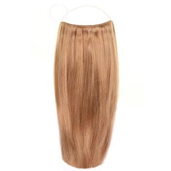 para human hair secret hair extensions golden brown 12